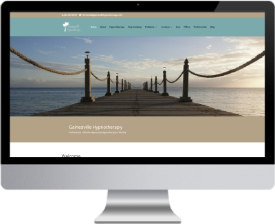 Gainesville Hypnotherapy Goes Responsive